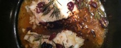 Help Me Make This Better! Rosemary and Black Olive Cod Filets
