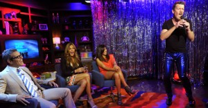 Andy Cohen, Kelly bensimon & Cindy Barshop watch me perform